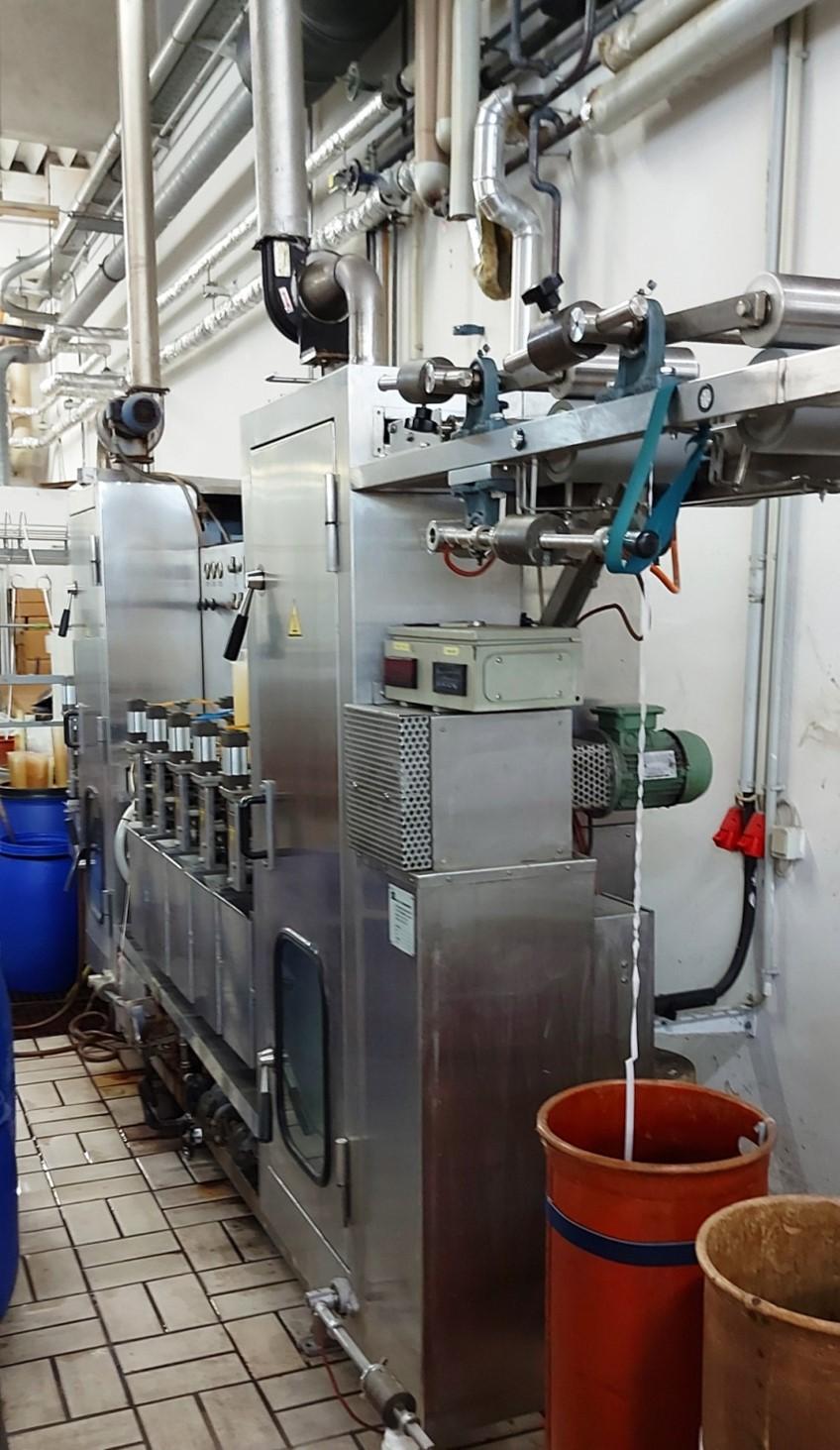 Breitenbach Continual dyeing machine